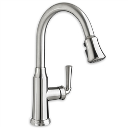 American Standard 4285.300 - Portsmouth 1-Handle Pull-Down High-Arc Kitchen Faucet