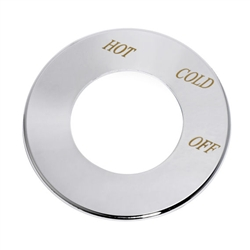 American Standard 60285-0020A - Polished Chrome Dial Plate