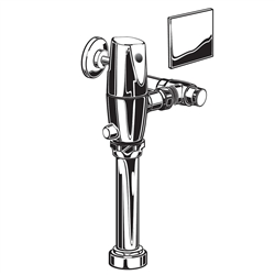 American Standard 6067.721 - Exposed Selectronic AC Toilet Dual Flush 1.28 / 1.1 gpf Flush Valve