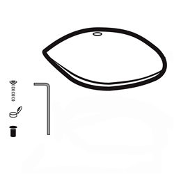 American Standard 738232-0200A - WH Cover Kit