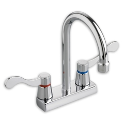 "American Standard 7400.000 - Heritage 4"" Centerset Gooseneck Faucet, less Handles,  1.5 gpm"