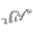 American Standard 7420.901 - Portsmouth Deck-Mounted Tub Filler with Lever Handles