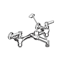 "American Standard 8344.212 - Service Sink Faucet with Top Brace, 6"" Vacuum Breaker Spout, Supply Stops"