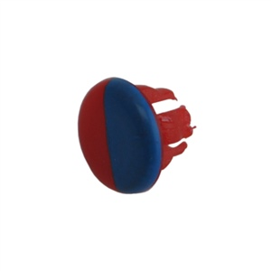 American Standard M907265-0070A - Red & Blue Index Btn