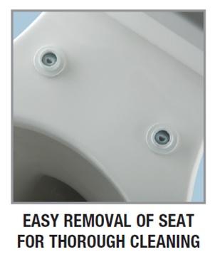 Bemis 200slowt Round Front Slow Closing Toilet Seat
