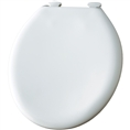 Church 300SLOWT - Round, Closed Front with Cover E2 STA Plastic Toilet Seat