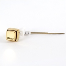 Case - SP-77 - Push Button Tank Lever Polished Brass