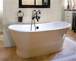 Cheviot 2124W - Balmoral Cast Iron Bath