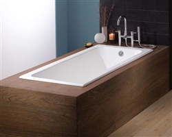 Cheviot 2193 - DROP IN CAST IRON TUB WITH FEET