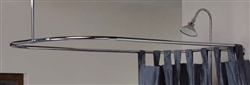 Cheviot 3150CH-57 - 31X57 SHOWER ROD-CHROME