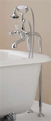 Cheviot 3965BN - FREE-STANDING WATER SUPPLY LINES-BRUSHED NICKEL