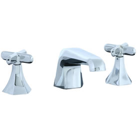 Cifial 202.110.625 - Hexa 3 hole Lavatory Faucet with Cross Handle