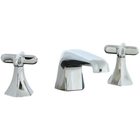 Cifial 202.110.721 - Hexa 3 hole Lavatory Faucet with Cross Handle