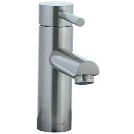 Cifial 221.102.620 - Techno Straight Lavatory Faucet - Satin Nickel