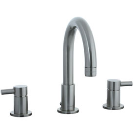 Cifial 221.110.620 - Techno Widespread Lavatory Faucet T300 - Satin Nickel