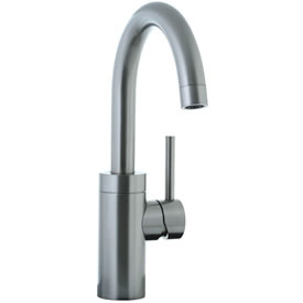 Cifial 221.146.620 - Techno Single Handle Lavatory or Kitchen Faucet with Swivel Spout - Satin Nickel