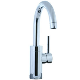 Cifial 221.146.625 - Techno Single Handle Lavatory or Kitchen Faucet with Swivel Spout - Polished Chrome