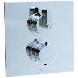 Cifial 231.614.625 - Techno M3 2 Hole Thermostatic Trim