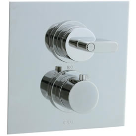 Cifial 231.614.721 - Techno M3 2 Hole Thermostatic Trim