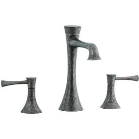 Cifial 245.130.R20 - Brookhaven L Spout low with s Lavatory with Crown Lever -rough nickel