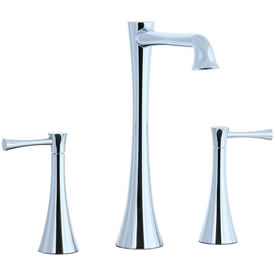 Cifial 245.180.625 - Brookhaven L Spout Widespread Vessel Bowl Filler with Crown Levers - pc