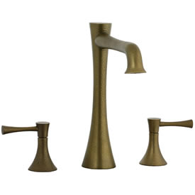 Cifial 245.650.V05 - Brookhaven L Spout 3pc Roman Tub Trim with Crown Lever -ab