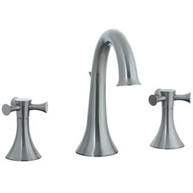 Cifial 246.150.620 - Brookhaven Hi-Arch Widespread Lavatory Crown Crs-St-Ni