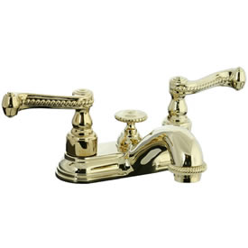 Cifial 256.115.X10 - Brunswick 4-inch Center Lavatory Faucet -PVD Brass