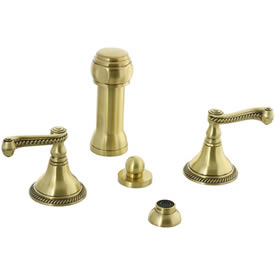 Cifial 256.125.509 - Brunswick Vertical spray bidet -Frch Bronze
