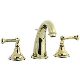 Cifial 256.150.X10 - Brunswick Hi-arch Widespread Lavatory Faucet -PVD Brass