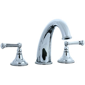 Cifial 256.650.625 - Brunswick 3-pc Hi-arch Roman Tub Faucet Trim - Polished Chrome