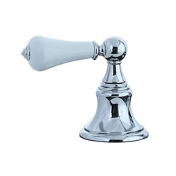 Cifial 262.660.625 - High Deck Transfer Valve Trim - Porcelain Handle Lever
