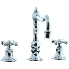 Cifial 267.250.625 - High Pillar Kitchen Widespread Faucet without Spray - Polished Chrome