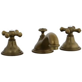 Cifial 277.110.V05 - Asbury Teapot Widespread Lavatory Faucet - Aged Brass