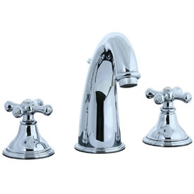 Cifial 277.150.625 - Asbury Hi-arch Widespread Lavatory Faucet - Polished Chrome