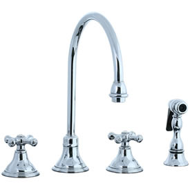Cifial 277.245.625 - Asbury Kitchen Widespread Faucet with spray