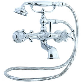 Cifial 277.330.625 - Asbury Claw foot tub filler - Polished Chrome