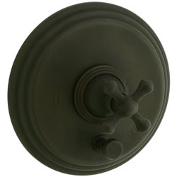 Cifial 277.611.W30 - Asbury CROSS PB valve with Diverter TRIM-Weathered