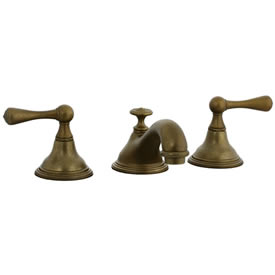 Cifial 278.110.V05 - Asbury Teapot Widespread Lavatory Faucet - Aged Brass