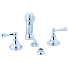 Cifial 278.125.625 - Asbury Vertical spray bidet - Polished Chrome