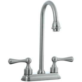 Cifial 278.225.620 - Asbury 4-inch Center Bar Faucet -Satin Nickel