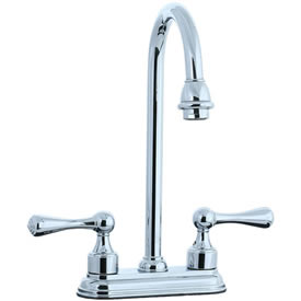Cifial 278.225.625 - Asbury 4-inch Center Bar Faucet - Polished Chrome