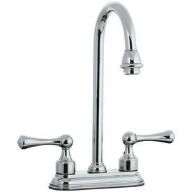Cifial 278.225.721 - Asbury 4-inch Center Bar Faucet - Polished Nickel