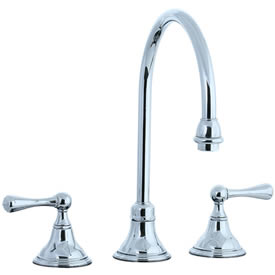 Cifial 278.230.625 - Asbury Kitchen Widespread Faucet without spray - Polished Chrome