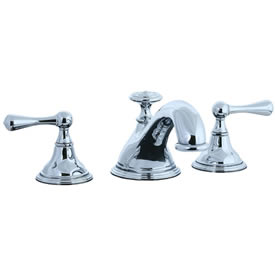 Cifial 278.640.625 - Asbury 3-pc Teapot Roman Tub Faucet Trim - Polished Chrome