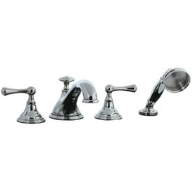 Cifial 278.645.721 - Asbury 4-pc. Teapot Roman Tub Faucet Trim - Polished Nickel