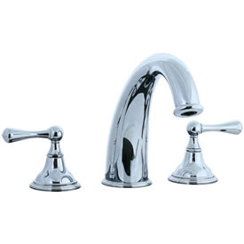 Cifial 278.650.625 - Asbury 3-pc Hi-arch Roman Tub Faucet Trim - Polished Chrome