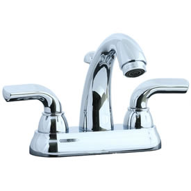Cifial 295.115.625 - Stone Mountain 4-inch cc Lavatory Faucet with Lever Handle- Polished Chrome