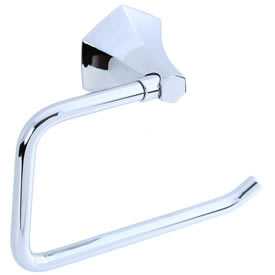 Cifial 401.655.625 - Hexa Toilet Paper Holder - Polished Chrome