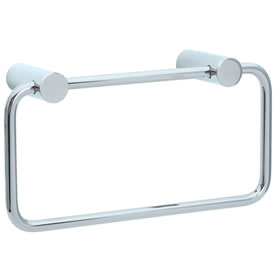 Cifial 422.440.721 - Techno Straight Two-Post Towel Ring